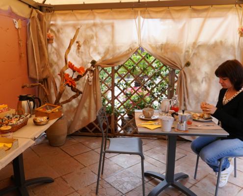 Domu Severino ~ gazebo colazione 1